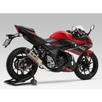 YOSHIMURA ヨシムラ スリップオン R-77S サイクロン カーボンエンド EXPORT SPEC 政府認証 SUZUKI GSX250R 17 (2BK-DN11A)
