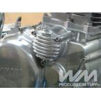 SR400 SR500 SRX400 SRX600 エンジンカバー WM ダブルエム(ウェリントン) フィン付き オイルフィルターカバー