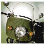 アサヒ風防 旭風防 No99スポーツウインドシールド その他 各社/パイプハンドル専用 50cc?750cc