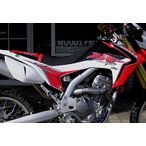 CRF250L 12-14 ステッカー・デカール XR'S ONLY エックスアールズオンリー AL BAKERS XRS ONLY TANK GRAPHICS (タンクグラフィックス)
