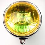 MINIMOTO ミニモト 6Vダックス用マルチリフレクター交換レンズイエロー ヘッドライト本体・ライトリム/ケース HONDA CHALY シャリー