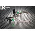 U-KANAYA 可倒式Rタイプ アルミビレットレバーセット HONDA PCX125 (JF28)、PCX125 (JF56)、PCX150 (KF12)、PCX150 (KF18)