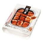 送料無料 家飲み おつまみ 缶つま 厚切りベーコンのハニーマスタード:105g 缶詰 買いだおれ ポイント消化 レターパック (92-0)