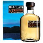 ウイスキー バルブレア 2003:700ml 取寄 洋酒 Whisky (98-0)