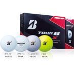 ショッピングブリヂストン ゴルフボール ブリヂストン TOUR B X イエロー/Bマーク  2ダース プレゼント付き