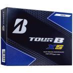 ショッピングブリヂストン ゴルフボール ブリヂストン TOUR B XS ホワイト/BRIDGESTONE GOLFロゴ  1ダース 送料無料