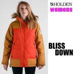 処分価格 ホールデン 15-16 BLISS DOWN -jk  /POPPY -CAMEL  ジャケット  HOLDENウエア(レディース 女性 womens)スノーボード ウェアレディース