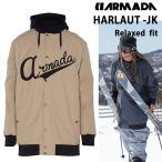 半額!15-16モデル ARMADA アルマダ スキーウェア ジャケット HARLAUT -JK  KHAKI  ヘンリクハーロウ【C1】