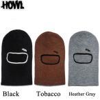 HOWL ビーニー 15-16 Burglar Facemask ハウル 目出し帽 スノーボード フェイスマスク 帽子