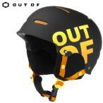 ショッピングヘルメット OUT OF(アウトオブ)ヘルメット/WIPEOUT BLACK RED HELMET  スノーボード・スキー ヘルメット