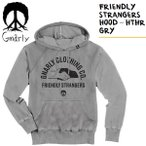 gnarly パーカー FRIENDLY STRANGERS HOOD  グレー  ナーリー パーカー