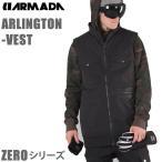 16-17モデル ARMADA アルマダ スキーウェア ゼロシリーズ ARLINGTON VEST ベスト /ブラック 【スキーウェア・スキー用品】