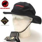 マムート アウトドア ゴアテックス ハット・キャップ GORETEX ALL WEATHER HAT 0001 ブラック 1090-05960 アドベンチャーベンチレーションハット