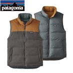 パタゴニア ダウン メンズ・リバーシブル・ビビー・ダウン・ベスト / Forge Grey w/Bear Brown (FYBB) 27587 日本正規品 PATAGONIA パタゴニア ベスト【C1】
