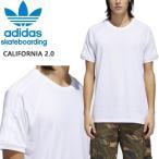 アディダス スケートボーディング アディダス tシャツ 白/CALIFORNIA 2.0 TEE (CW2354) 速乾 ドライ adidas skateboarding adidas tシャツ【C1】