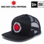 ニューエラ メッシュキャップ 9FIFTY トラッカー レッドホットチリペッパーズ ロゴ ブラック 11797097 newera キャップ