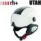 ZEROrh+ ゼロ アールエイチプラス スキー ヘルメット 2016 UTAH Black×White バイザーヘルメット (15-16 15/16 2016) ZERO rh+ helmet スノーヘルメット