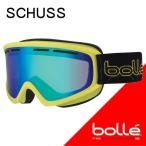 bolle(ボレー) 2017 SCUSS(シャース) シャイニーライム グリーンエメラルド 21482 平面レンズ 16-17  スキーゴーグル