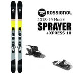 ショッピング板 ロシニョール スキー 2019 SPRAYER スプレイヤー + ルック Xpress 10 B83 ビンディング付 スキーセット rossignol 18-19 スキー板 /L2