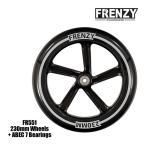 FRENZY フレンジー キックボード スペアウィール FR551 230mm + ABEC 7 Bearings キックスクーター  正規販売店 【C1】