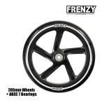 FRENZY フレンジー キックボード スペアウィール FR551 205mm + ABEC 7 Bearings キックスクーター  正規販売店 【C1】