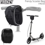 FRENZY フレンジー キックボード アクセサリー  FRENZY SCOOTER BAG  Black  取外し可能カラビナ付ポーチ  FR550  フレンジー キックスクーター  正規販売店