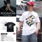Tシャツ 花柄 ロカウェア ROCAWEAR