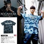 Tシャツ ロカウェア ROCAWEAR メタルロゴ バンド系 バンT タイダイ
