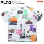 エルアールジー LRG Tシャツ 半袖 総柄 大きいサイズ かっこいい おしゃれ 花柄 薔薇 総柄 ゆったりサイズ ビッグシルエット
