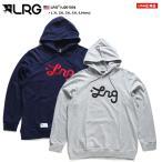 エルアールジー LRG フードパーカー スウェット 長袖 大きいサイズ かっこいい おしゃれ 定番ロゴ 刺繍 ビッグシルエット シンプル ギフト