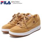 フィラ FILA スニーカー 靴 シューズ T1-MID LUXモデル ブラウン スウェード