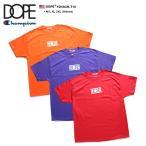 ドープ DOPE Champion チャンピオン 限定コラボ Tシャツ 半袖 オレンジ 紫 赤 M L XL 2L LL 2XL 3L XXL ストリート系 メンズ レディース 大きいサイズ