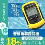 魚群探知機 携帯型 魚探  フィッシュファインダー 釣り 魚群探知機 音波式