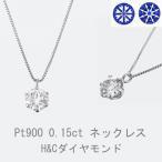 ダイヤモンド ネックレス ダイヤモンドネックレス  プラチナ 一粒 0.15カラット