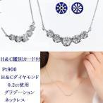 ショッピングネックレス ネックレス ダイヤモンド ダイヤモンドネックレス  ピンクゴールド 0.20ct 受注品