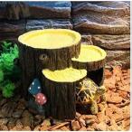 Milkee 亀の隠れ家 蛇 ヤモリなどの住家 インテリア 水槽 オブジェ  飾り フードボウル 飲み水ボウル