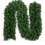 クリスマス 飾り クリスマスリース モール クリスマス キャンディー オーナメント ガーランド 本格的 2.7m クリ