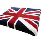 ブランケット 毛布 150*200cm レトロ風 フランネル素材 アメリカ イギリス 国旗柄 ダブル 暖かい 掛け毛布 タオル