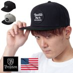 BRIXTON ブリクストン キャップ スナップバック メンズ Wheeler Snap Back USAモデル