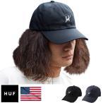 ショッピングキャップ キャップ HUF ハフ 帽子 メンズ Script Logo Curve Brim Hat 正規品 USAモデル