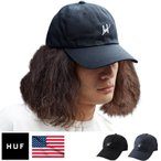 HUF ハフ キャップ Script Logo Curve Brim Hat メンズ ローキャップ 全2色 フリーサイズ HTBSC0086