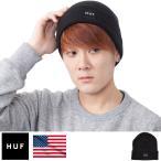 ニット帽 HUF ハフ ビーニー ボックスロゴ メンズ Box Logo Beanie 正規品 USAモデル