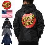 ジャケット SANTA CRUZ サンタクルーズ ナイロンジャケット Dot Hooded Windbreaker Jacket 正規品 USAモデル