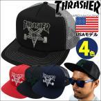 スラッシャー THRASHER メッシュキャップ メンズ Skategoat Mesh Cap USAモデル
