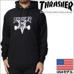 スラッシャー THRASHER パーカー プルオーバー メンズ Skategoat Pullover Hooded Sweat USAモデル