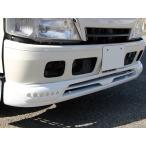 日野 デュトロ/トヨタ ダイナ フロントスポイラー LED付き 純正色 ホワイト塗装済 HINO DUTRO TOYOTA DYNA 2tトラック トラックカスタム