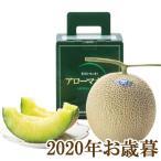 2020年お歳暮ギフト『静岡温室農協マスクメロン 1.3kg×1』(代引不可)
