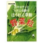 UHA味覚糖 βカロチンとビタミンB群でほうれん草飴 野菜粒 (90g)