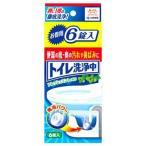 小林製薬 トイレ洗浄中 フレッシュミントの香り (6錠入) トイレ用洗浄剤