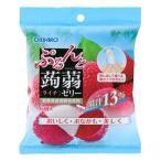 オリヒロ ぷるんと蒟蒻ゼリー パウチ ライチ (20g×6個入)